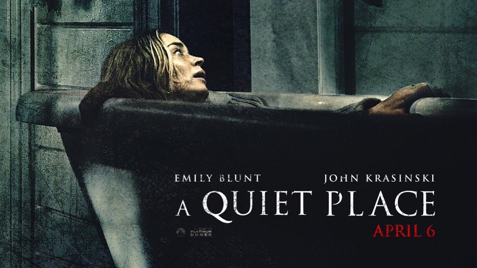 """「クワイエット・プレイス」""""A Quiet Place""""(2018)"""