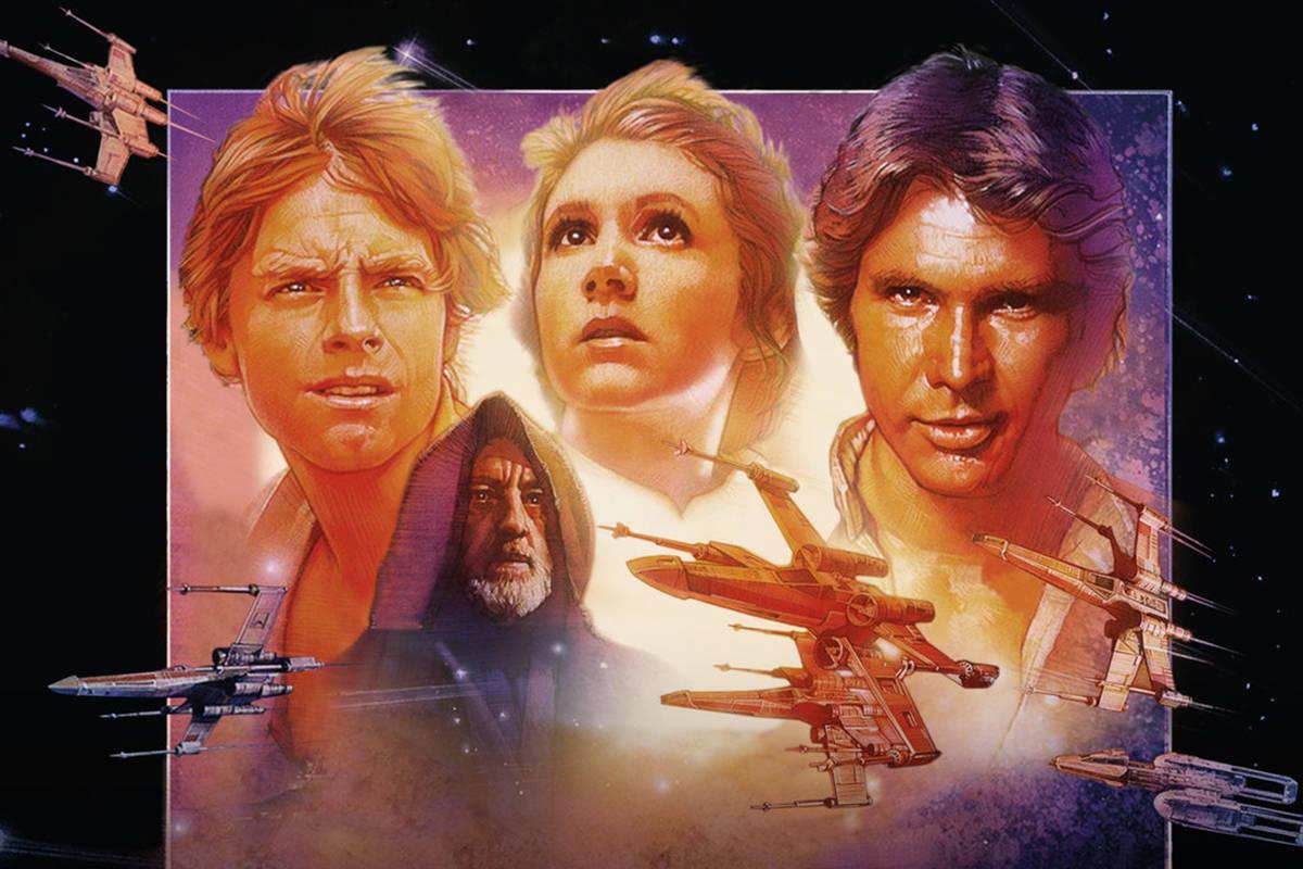 """「スター・ウォーズ エピソード4 新たなる希望」""""STARWARS Episode IV A New Hope""""(1977)"""
