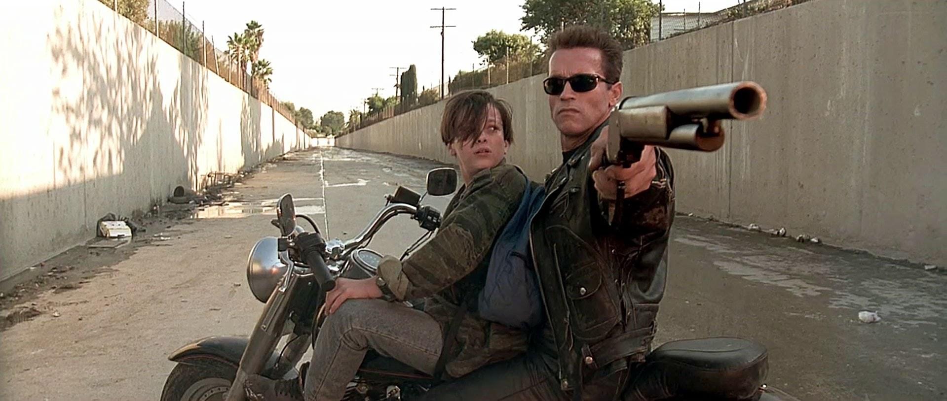 """「ターミネーター2」""""Terminator 2 Judgement Day""""(1991)"""