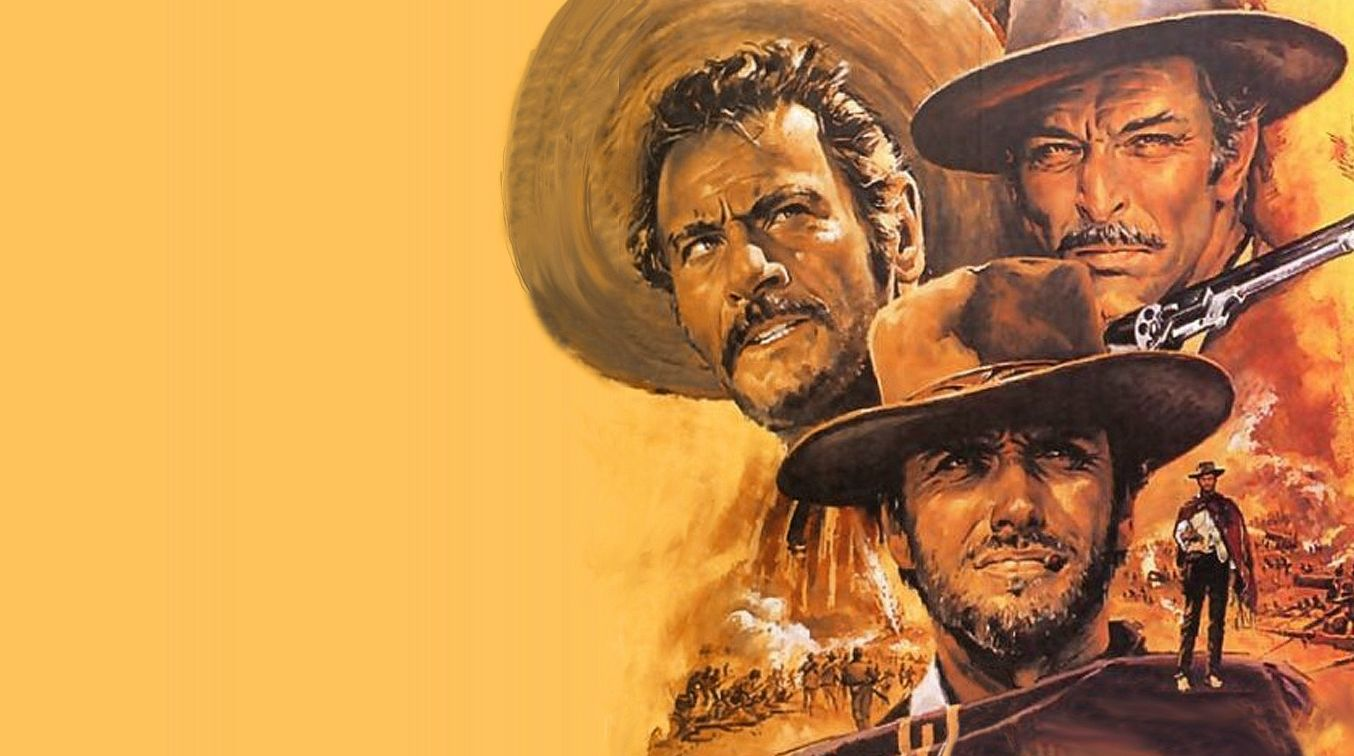 "「続・夕陽のガンマン」""The Good The Bad and The Ugly"" aka ""Il buono, il brutto, il cattivo""(1966)"