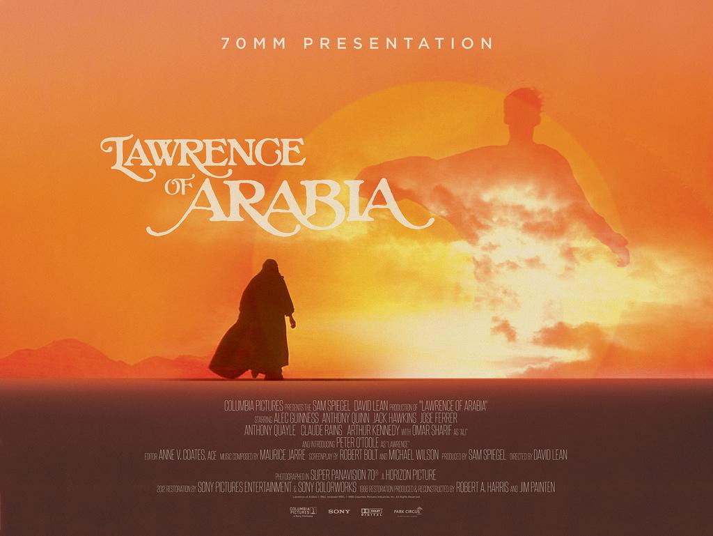 """「アラビアのロレンス」""""Lawrence of Arabia""""(1962)"""