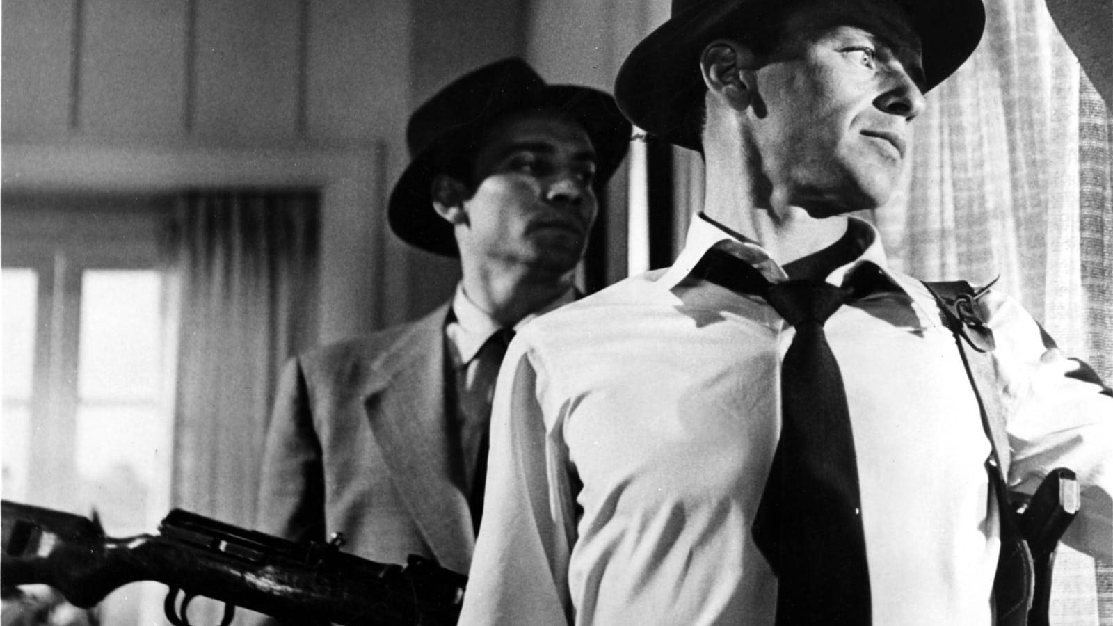 """「三人の狙撃者」""""Suddenly""""(1954)"""