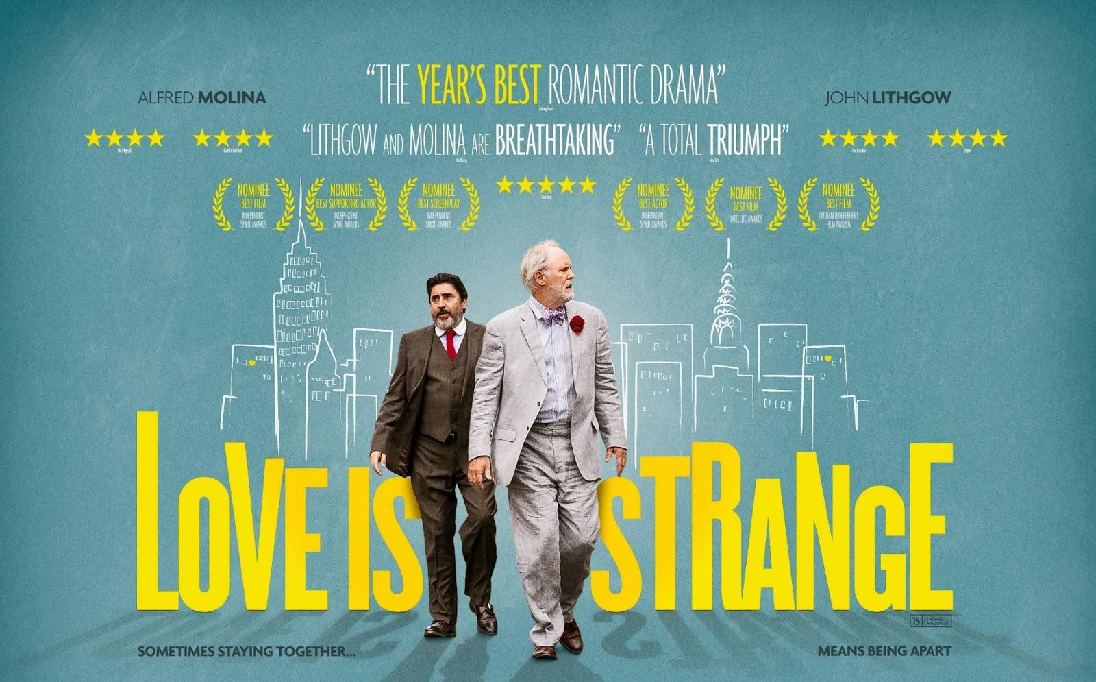 """「人生は小説よりも奇なり」""""Love is Strange""""(2014)"""