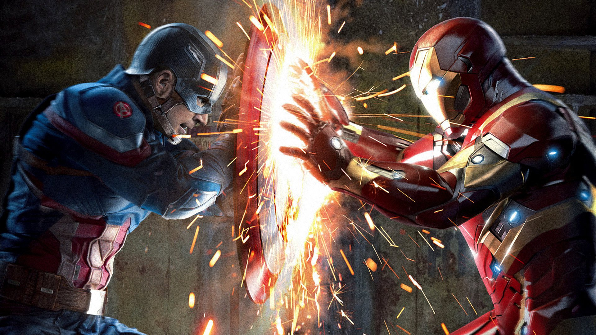 """「シビル・ウォー/キャプテン・アメリカ」""""Captain America: Civil War""""(2016)"""