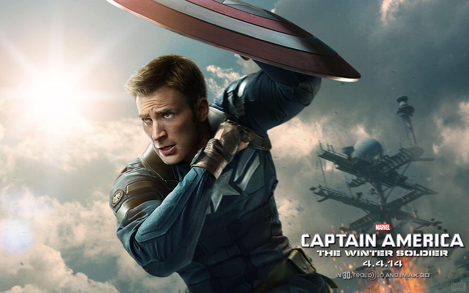 """「キャプテン・アメリカ ウィンター・ソルジャー」""""Captain America The Winter Soldier""""(2014)"""
