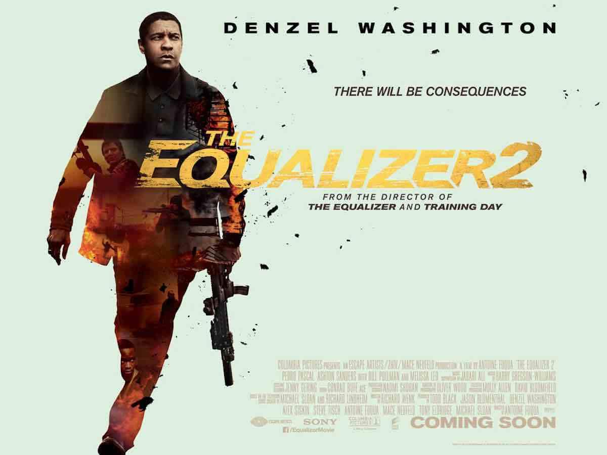 """「イコライザー2」""""Equalizer 2″(2018)"""