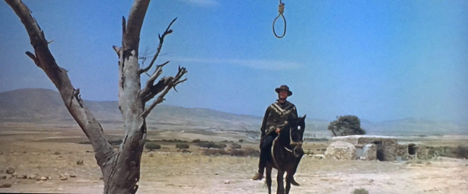 """「荒野の用心棒」""""A Fistful of Dollars"""" aka """"Per un pugno di dollari""""(1964)"""