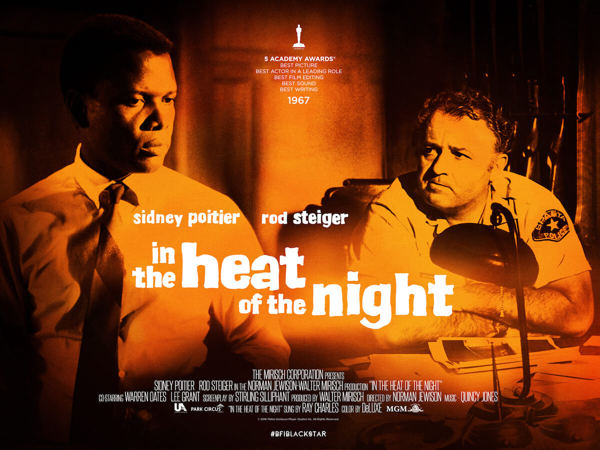 """「夜の大捜査線」""""In the Heat of the Night""""(1967)"""