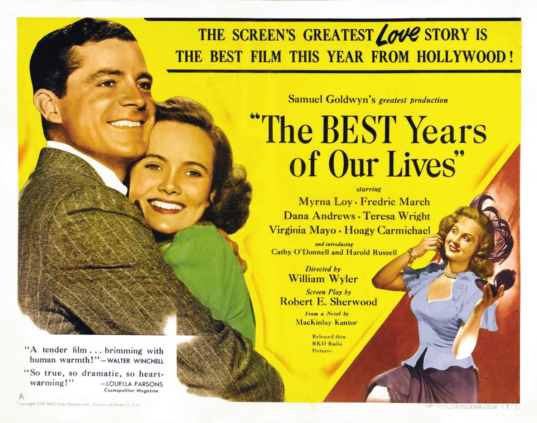 """「我等の生涯の最良の年」""""The Best Year of Our Lives""""(1946)"""