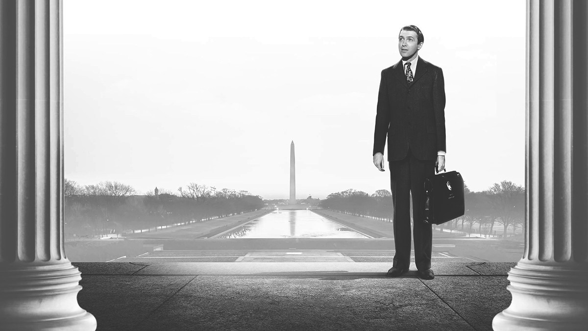 """「スミス都へ行く」""""Mr.Smith Goes to Washington""""(1939)"""