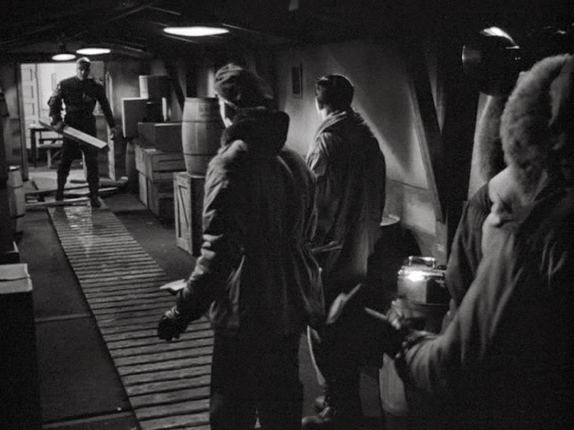 """「遊星よりの物体X」""""The Thing from another world""""(1951)"""