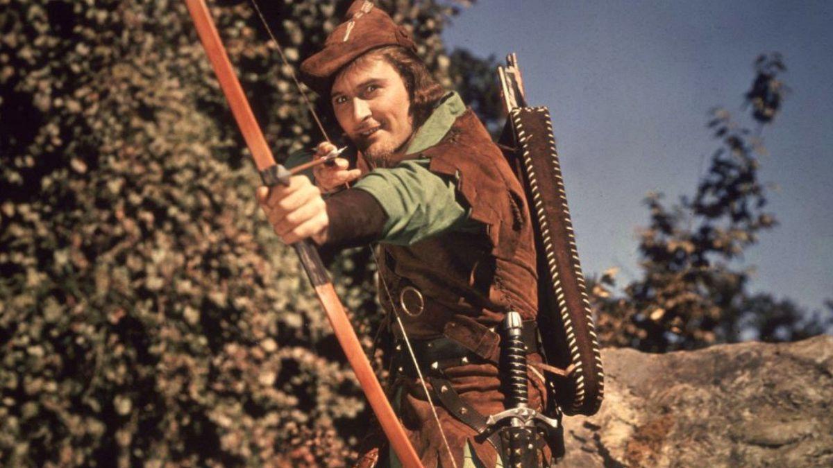 """「ロビンフッドの冒険」""""The Adventures of Robin Hood""""(1938)"""