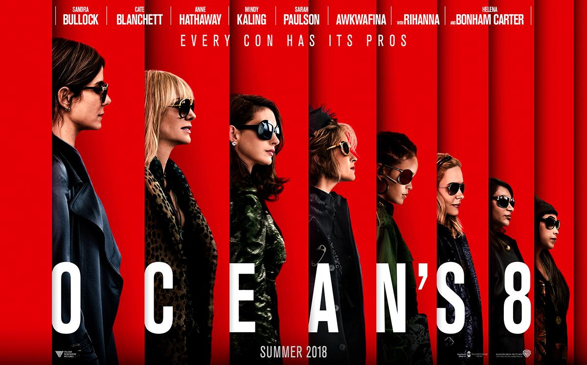 """「オーシャンズ8」""""Ocean's8″(2018)"""