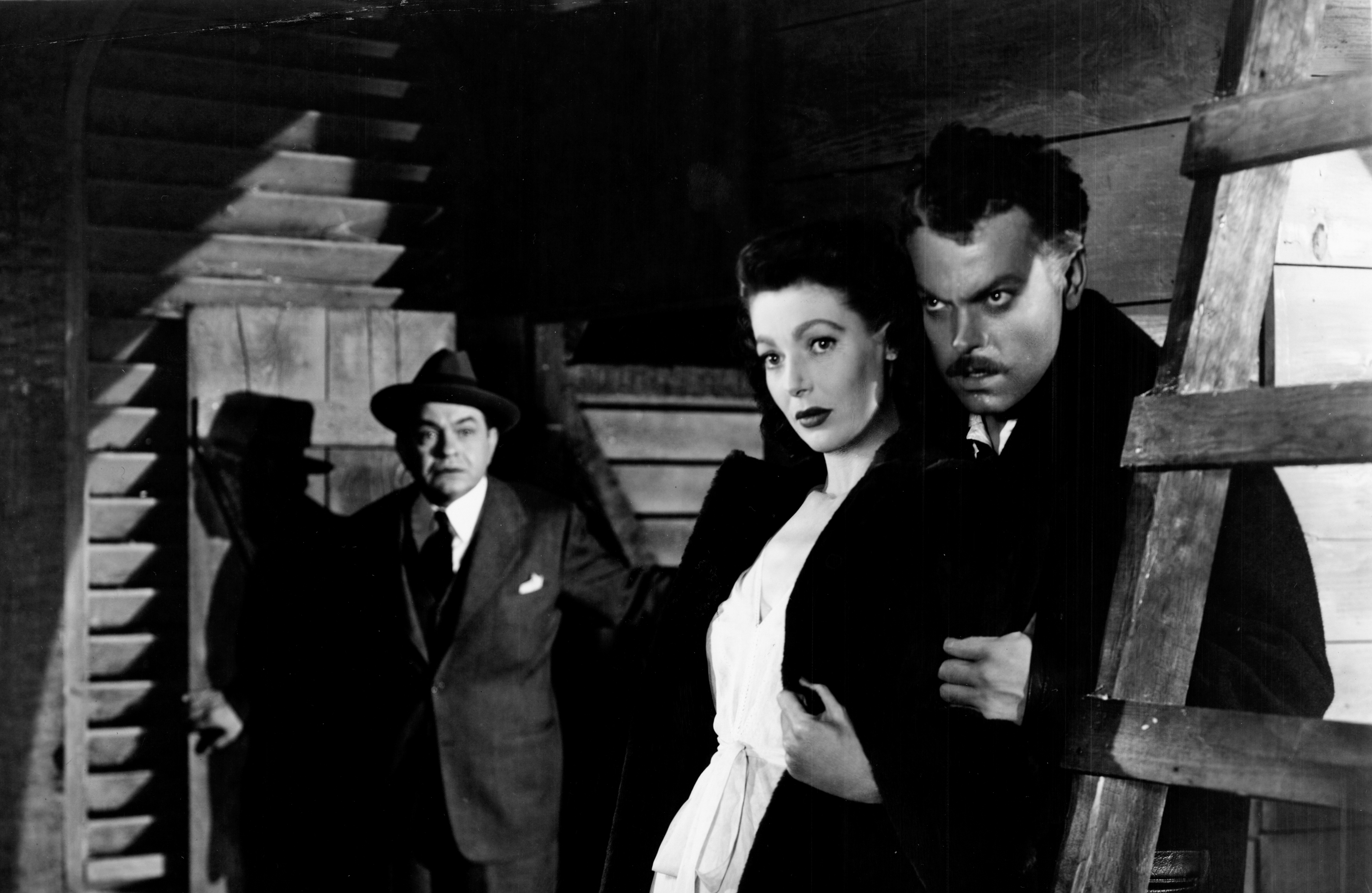 """「謎のストレンジャー」""""The Stranger""""(1946)"""