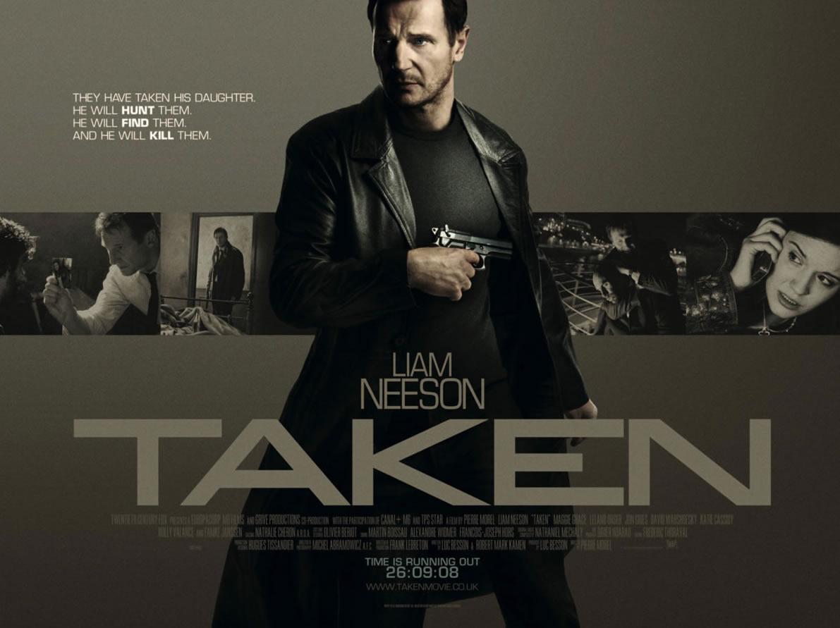 "「96時間」""Taken""(2008)"