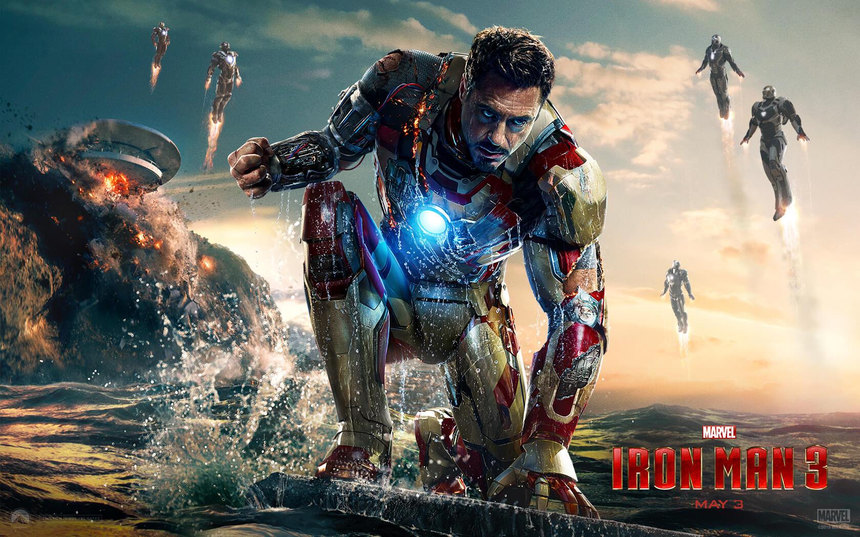 """「アイアンマン3」""""Ironman 3″(2013)"""