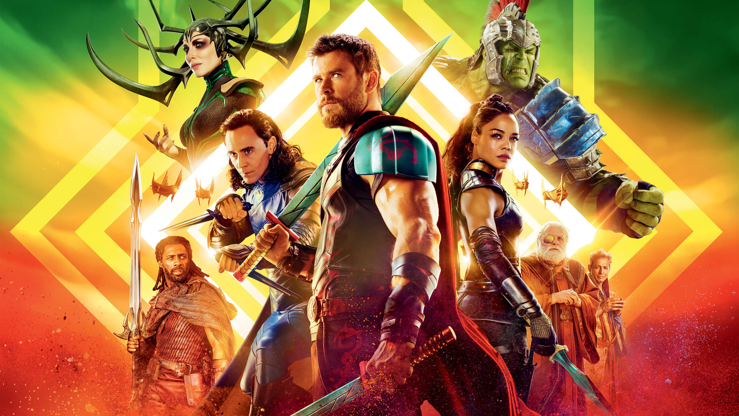 """「マイティ・ソー バトルロイヤル」""""Thor: Ragnarok""""(2017)"""