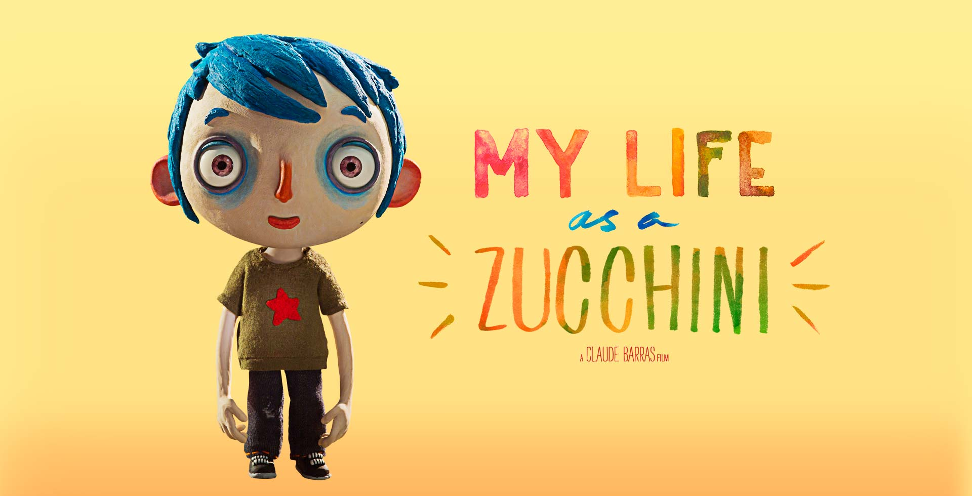 "「ぼくの名前はズッキーニ」""Ma ve de Courgette"" aka ""My Life as a Zucchini""(2016)"