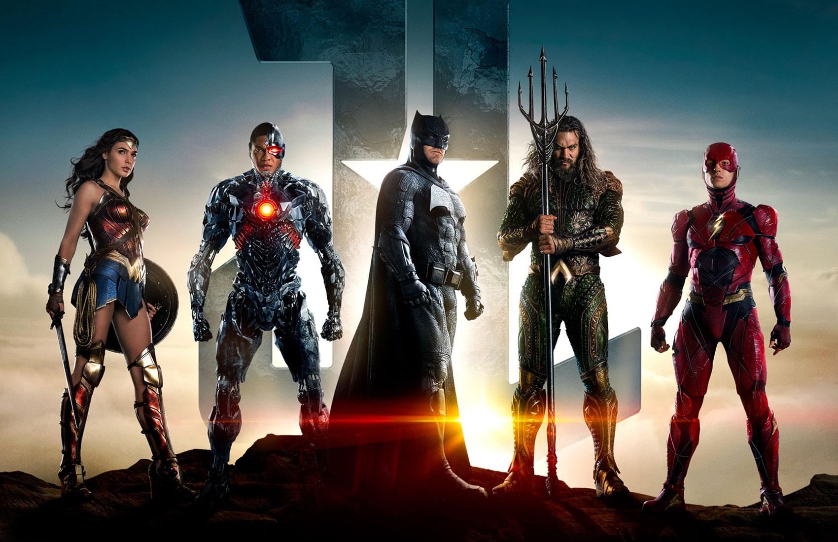 """「ジャスティス・リーグ」""""Justice League""""(2017)"""