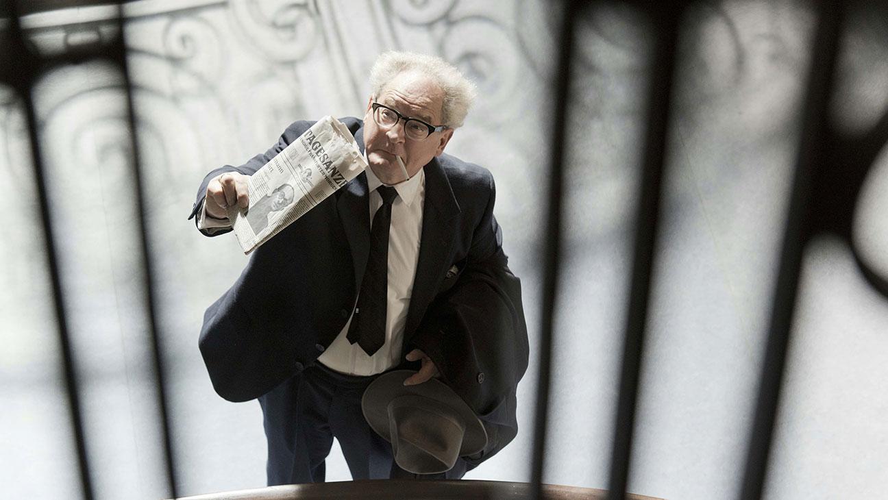 """「アイヒマンを追え! ナチスがもっとも畏れた男」""""Der Staat gegen Fritz Bauer"""" aka """"The People vs Fritz Bauer""""(2015)"""