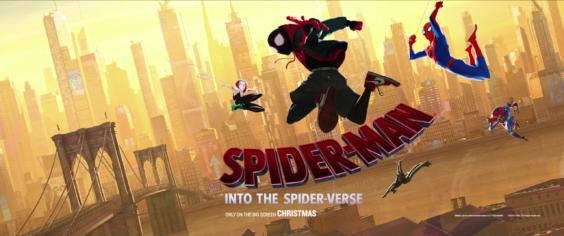"""「スパイダーマン:スパイダーバース」""""Spiderman: Into The Spider-Verse""""(2018)"""