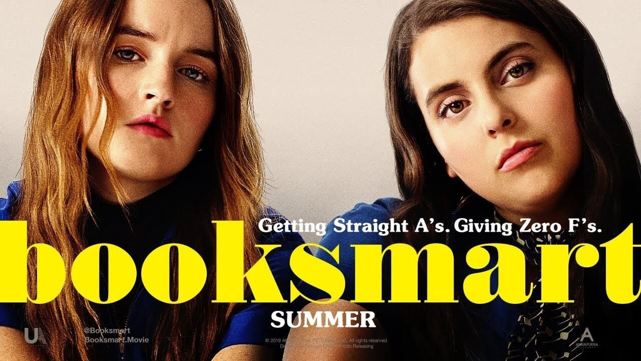 Beanie Feldstein Kaitlyn Dever in booksmart2019movie