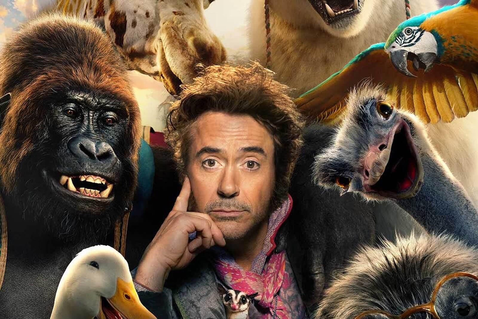 Robert Downey Jr. as Dr. John Dolittle in Dolittle
